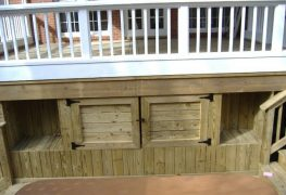 Give a Spacious Look to Your Home with Deck Storage